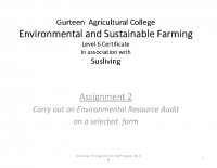 AA011_Assignment2 – Environmental Resource Audit