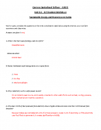 Answers-Worksheet_Unit8.1-8.5_Sustainable Energy and Resources on Farms