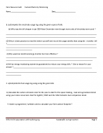 Assignment Support – Energy Monitoring Records